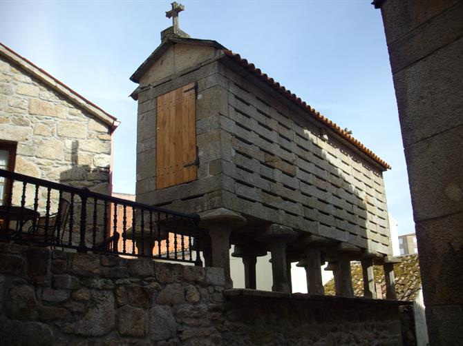 Horreo in rural Galicia