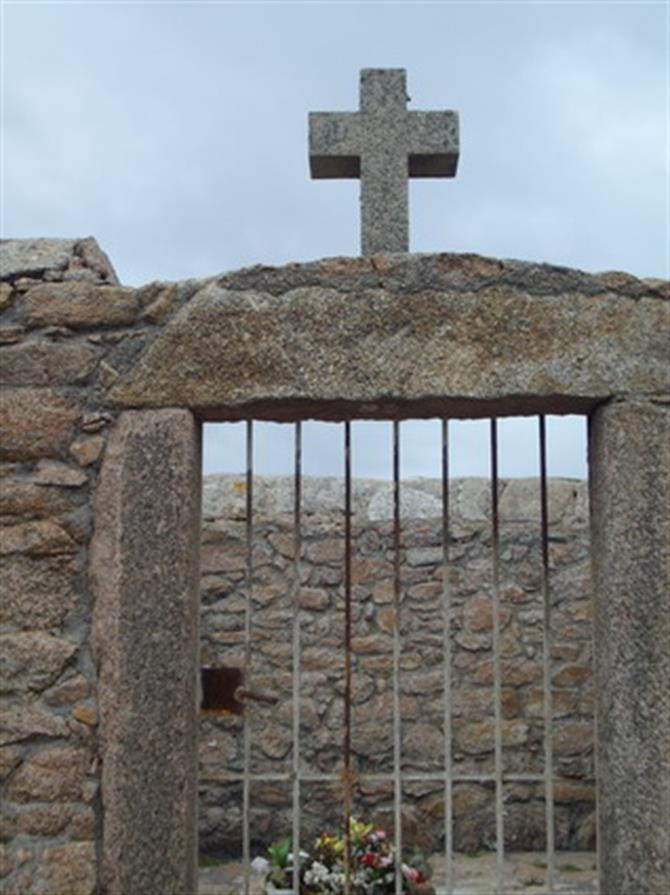 The English cemetery, Galicia