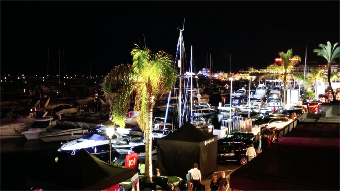 Spanish nightlife in Puerto Banus, Marbella