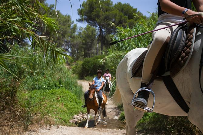 Excursion à cheval, Costa Blanca (Espagne)