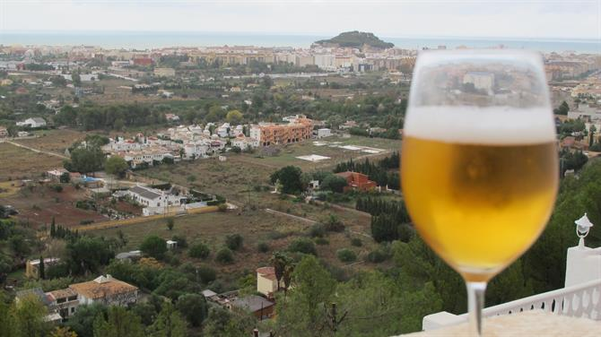 Amber nectar in Alicante