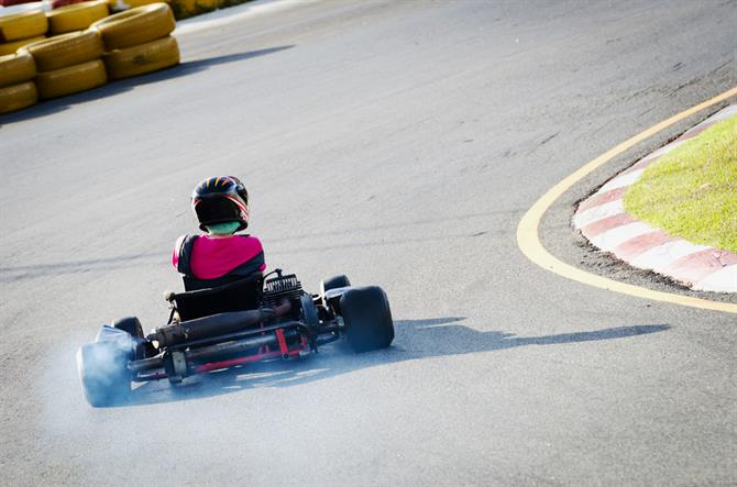 Karting-radalla Costa Bravalla
