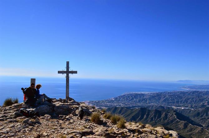 The top of El Cielo, Nerja