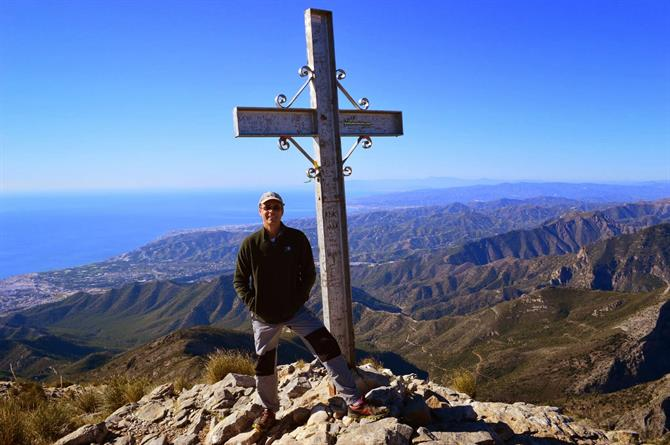 John Kramer at the top of El Cielo