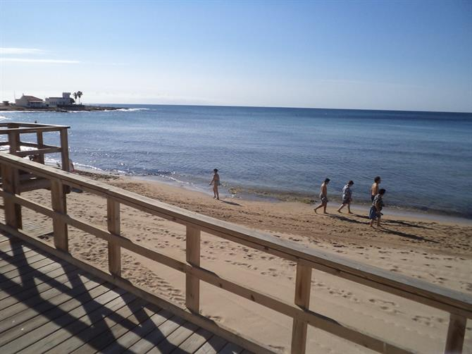 Beach in Torrevieja
