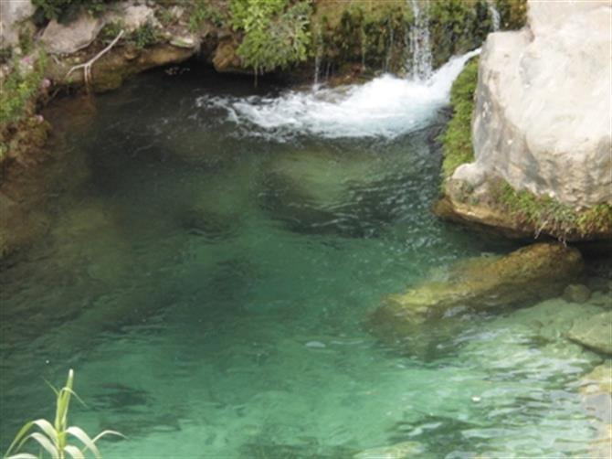 Natural pools,Algar