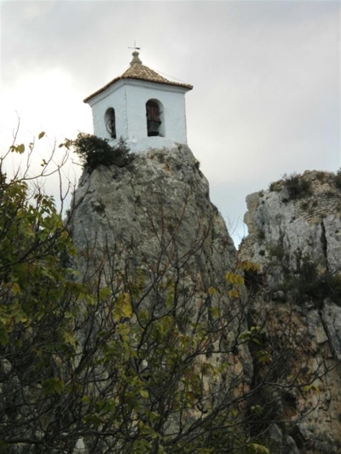 Bell tower,Guadalest