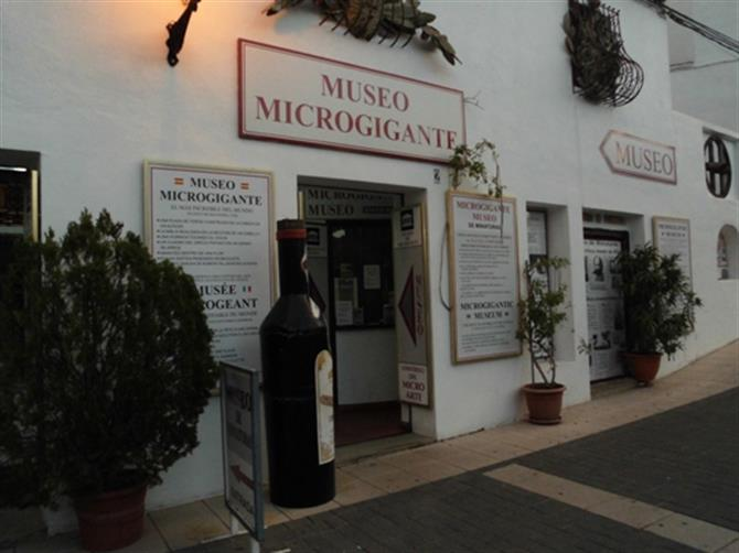 Museo Microgigante,Guadalest