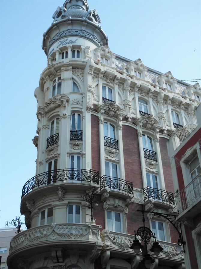 Art deco building,Cartagena