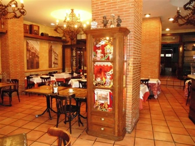 Das Café La Tartana in Cartagena