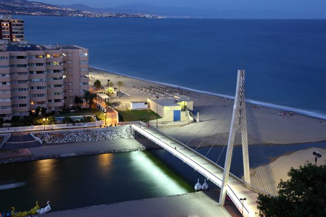 Fuengirola night view