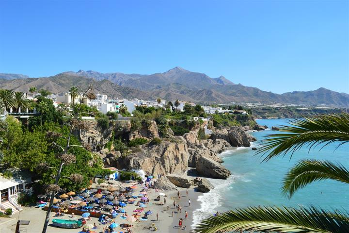 The Balcón de Europa, Nerja
