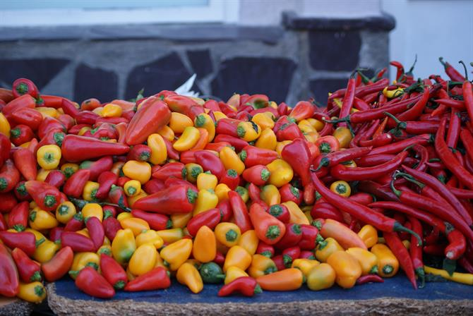 peppers,market