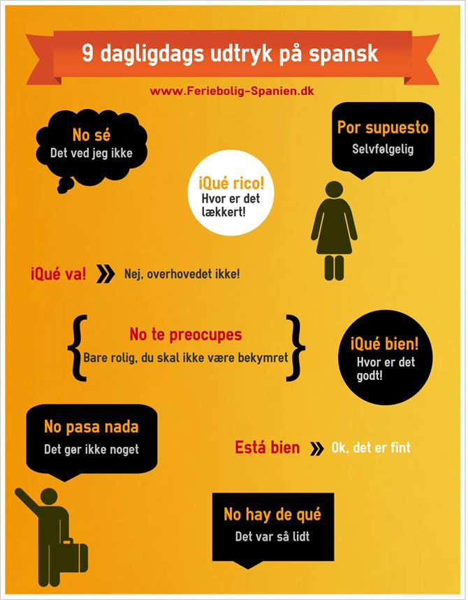 Tal Spansk 4 - Spanish Expressions