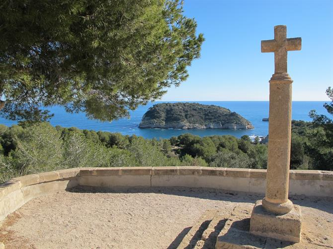 Portitxol cross, Javea