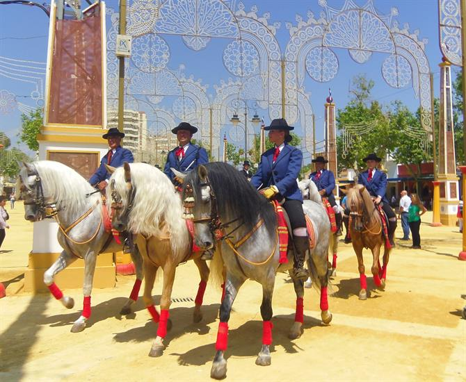 Royal caballeros from Jerez