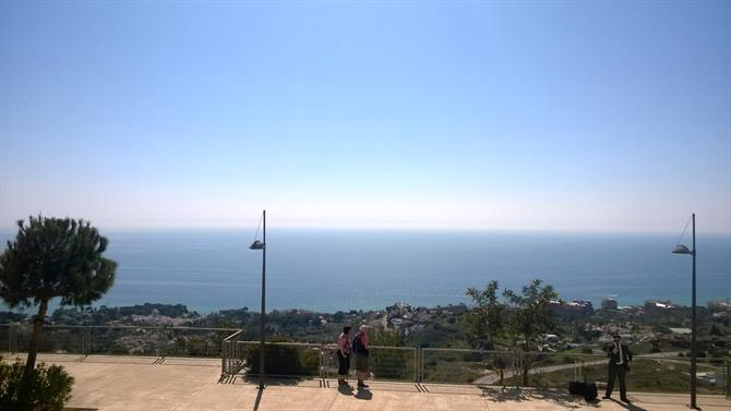View from Stupa in Benalmadena