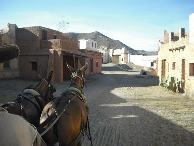 Fort Bravo in a horse buggy