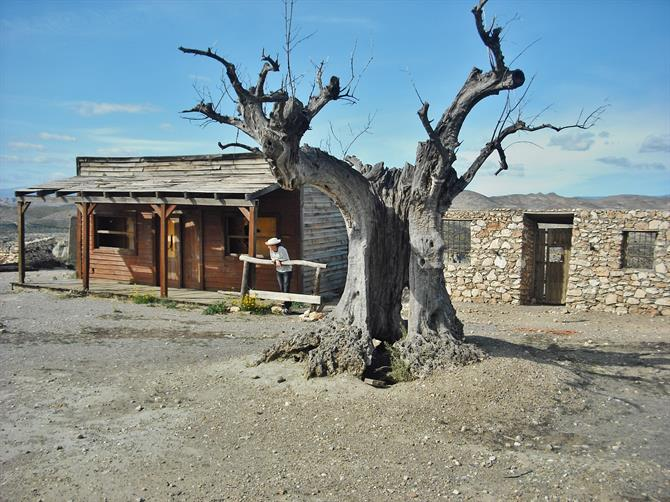 Tabernas Desert - film location for Once Upon a Time in the West