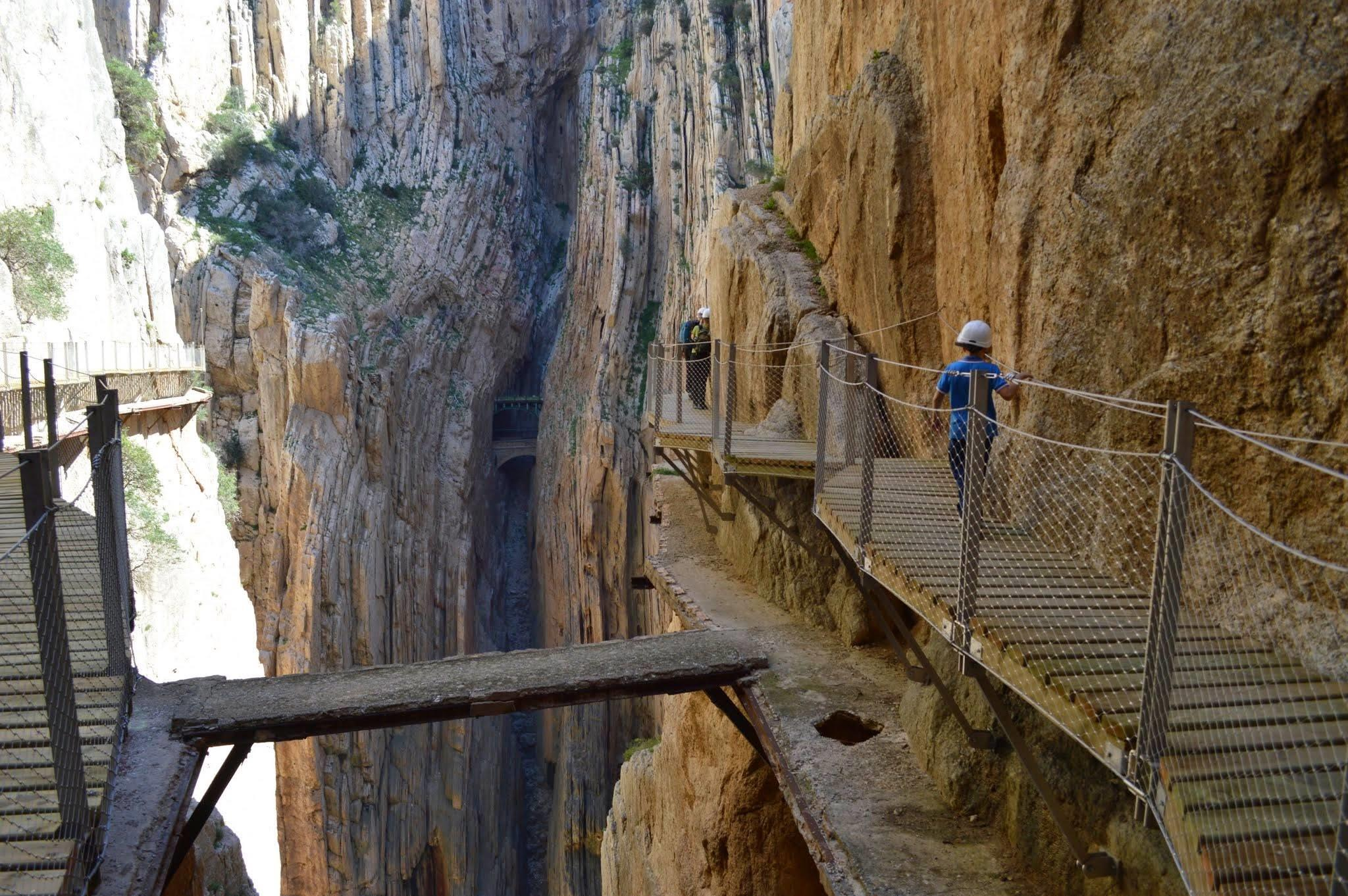 Visiting the Caminito del Rey, Malaga
