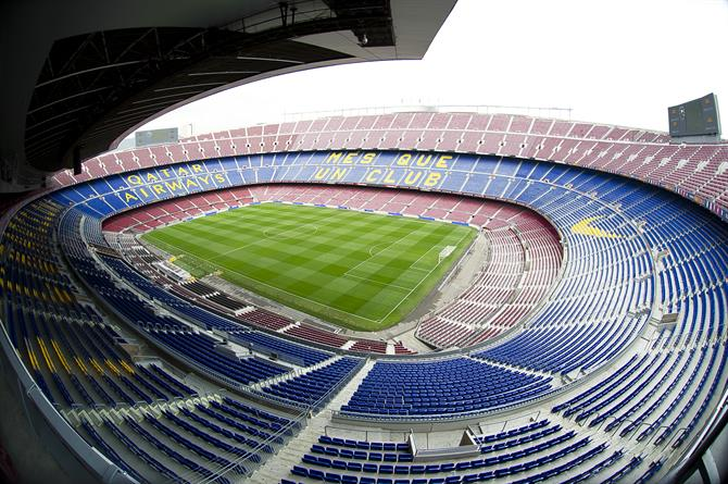 Camp Nou. Estadio del F.C Barcelona