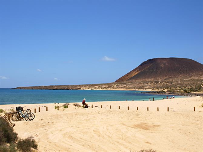 Beach, La Graciosa, Lanzarote, Canary Islands