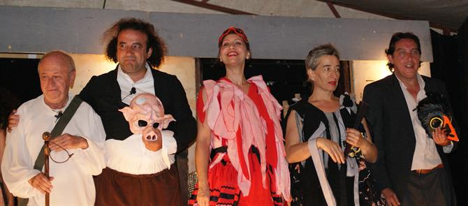 Lorca travelling theatre group