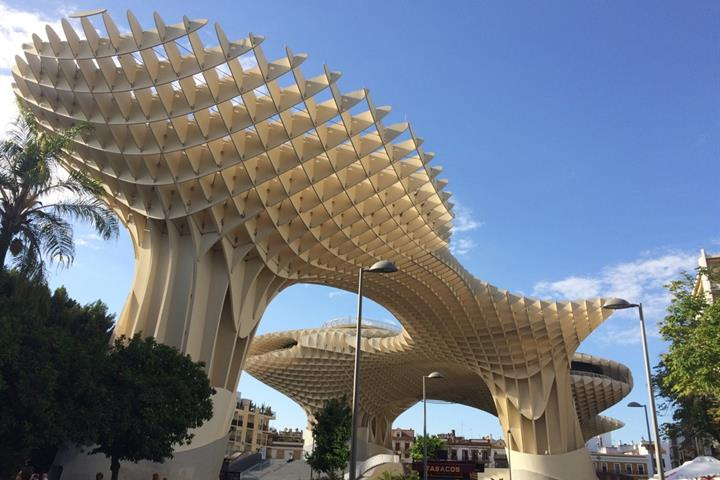 A Visit to the Metropol Parasol in Seville, Spain