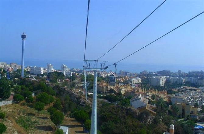 Cable car Benalmadena