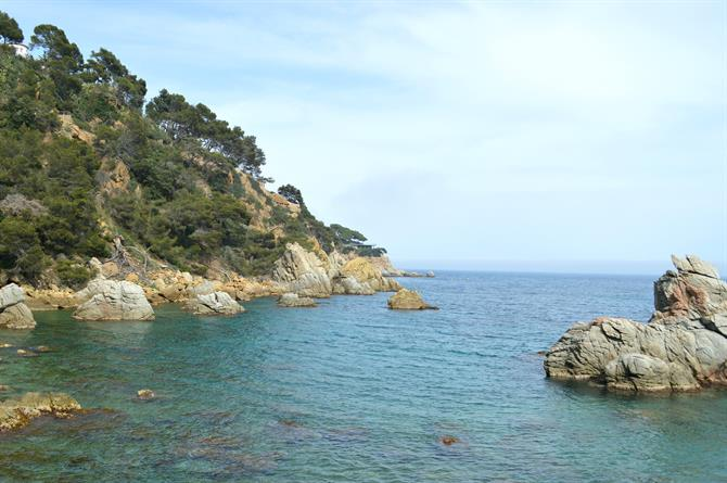 Lloret de Mar, coast