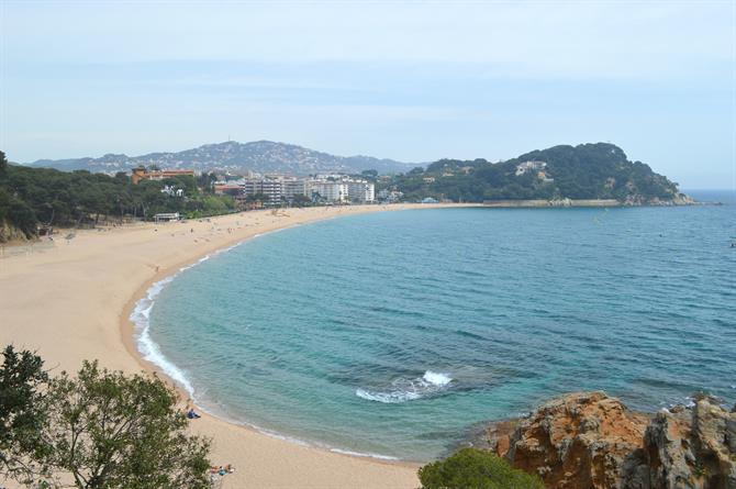 Lloret de Mar, Fenals -The beach