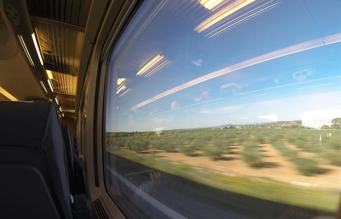 Train to Madrid