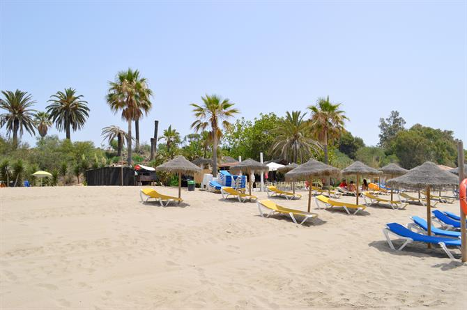 Bounty beach Marbella - Spiaggia del Cable