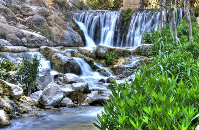 Algar waterfalls