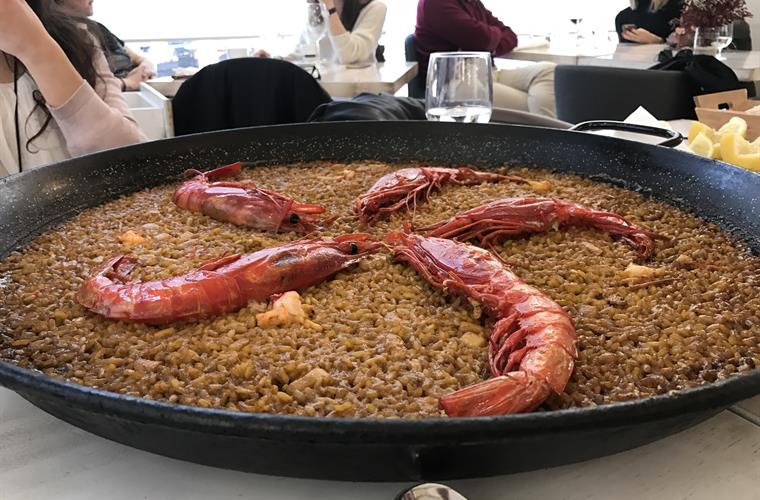 Close to varied restaurants where you can taste our typical PAELLA