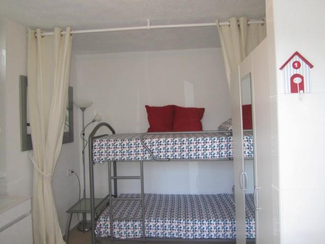 Downstairs 3rd. bedroom and 2nd shower,accessed by pool terrace !