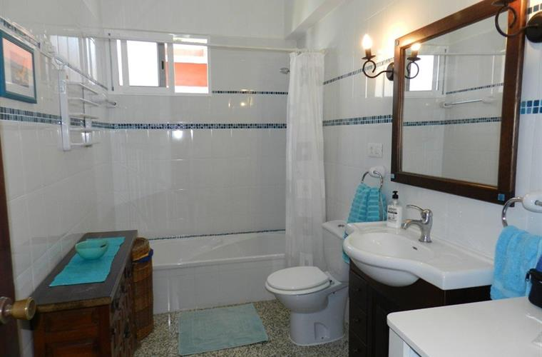 Bathroom no.1 with bathtub