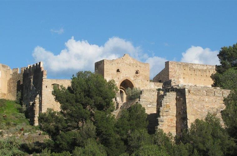 Sagunto castle, arabian gate