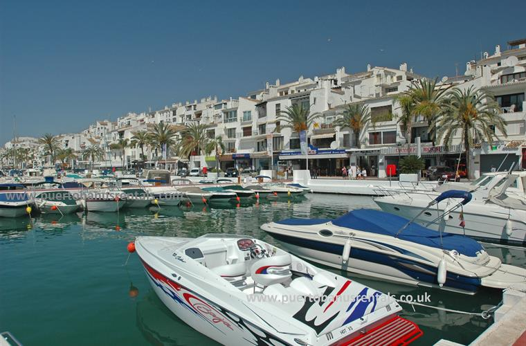 Marina Puerto Banus - just a few minutes walk away from our apt