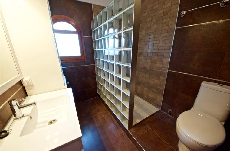 Bathroom two with walk in shower
