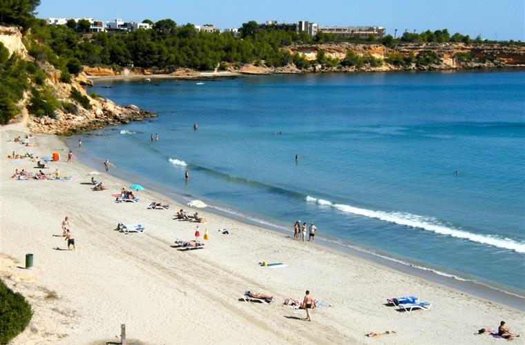Cap Roig beach is just a five kilometre drive from the villa