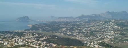 View over Calpe