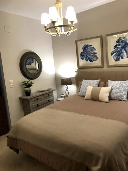 2nd Double bedroom refurbished with air conditioning