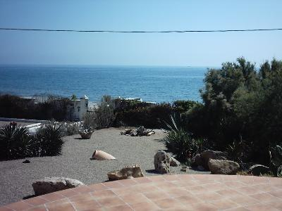 Sea sight from sun terrases