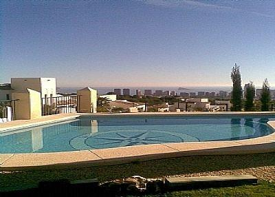 View from the Villa pool