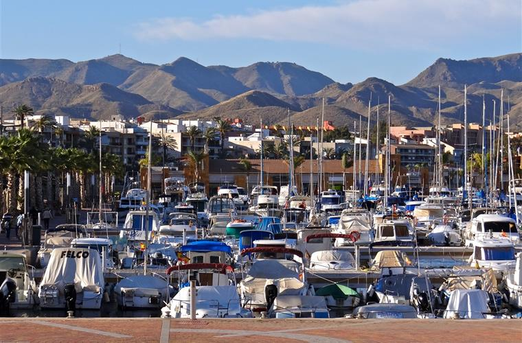 The Marina in Puerto de Mazarron.