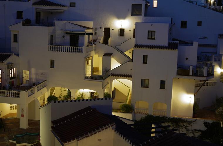Capistrano Playa at night - view from terrace