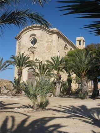 The Church on Isla De Tabarca