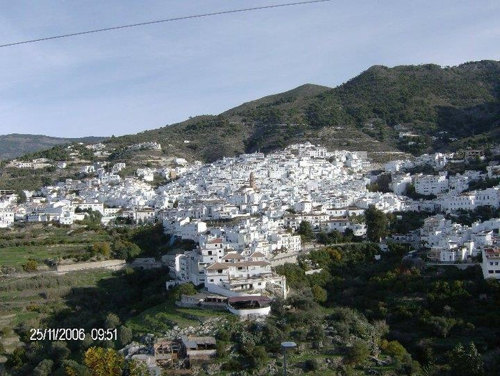 The beautiful village of Cómpeta