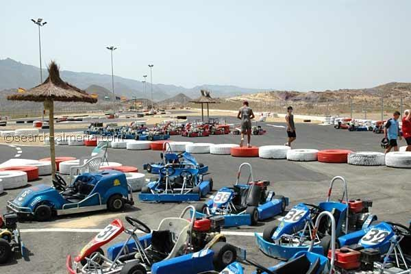 Go-Karting in Garrucha 30 minutes away